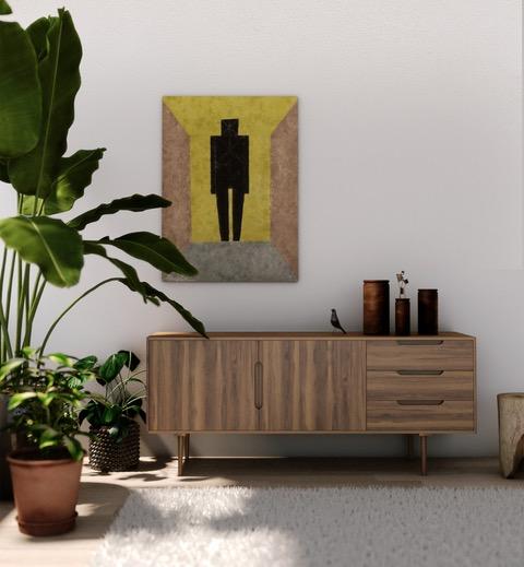 Houseplants in living room, indoor tree, house plants layers